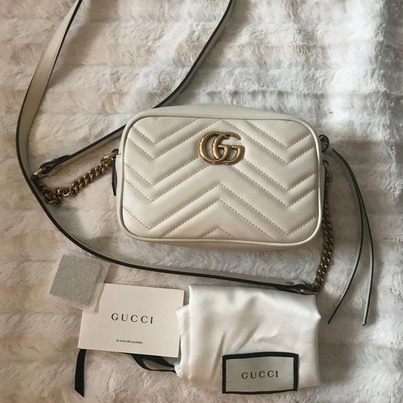 Gucci Handbags - GG Marmont matelassé mini bag